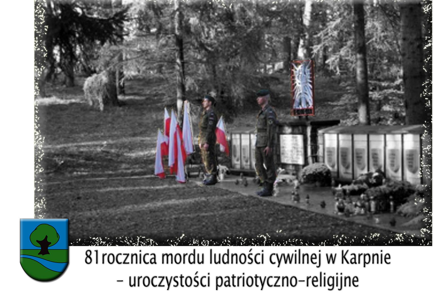 81 rocznica mordu ludności cywilnej w Karpnie uroczystości patriotyczno-religijne