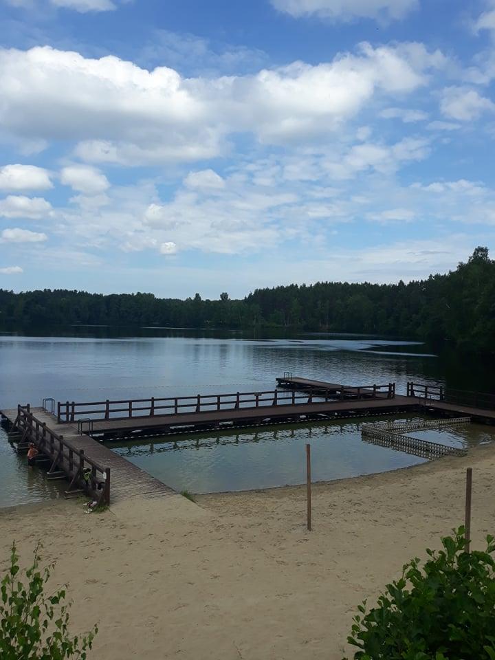 Jezioro Skrzynki Duże w Nowym Karpnie