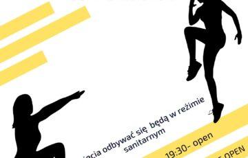 Aerobik od 1 czerwca zajęcia odbywać się będą w reżimie sanitarnym wtorki godz. 18:30 seniorki godz. 19:30 open czwartki godz. 19:15 seniorki godz. 20:15 open z uwagi na COVID- 19 prosimy o wcześniejsze zapisy